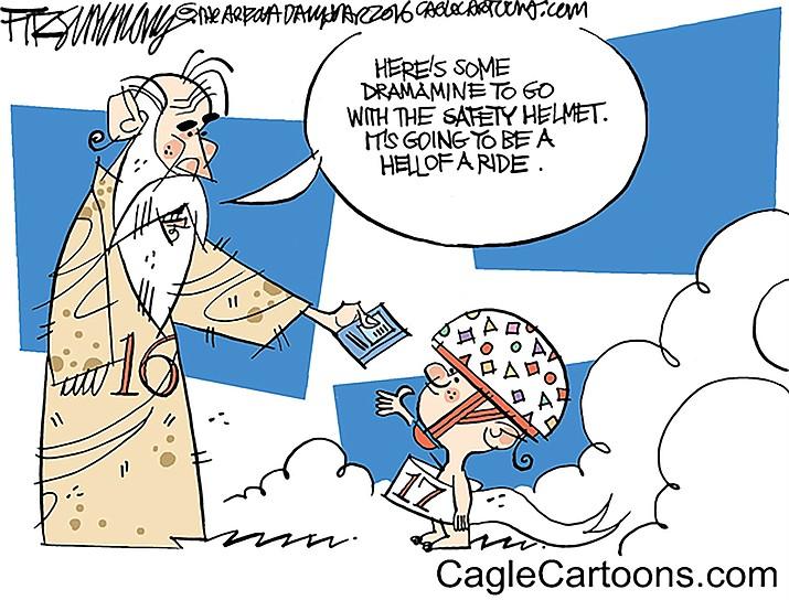 Editorial cartoon: Jan. 1, 2017