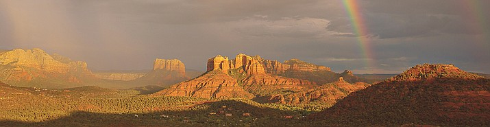 The proposal by the Coalition for Permanent Protection of the National Forest in the Sedona Verde Valley Red Rock Area requests that 80,000 acres of the Red Rock Ranger District of the Coconino National Forest (CNF) be designated as national monument. This action, under current law, exempts those acres from future land trades and leases for commercial development or resource exploitation. (Courtesy photo)