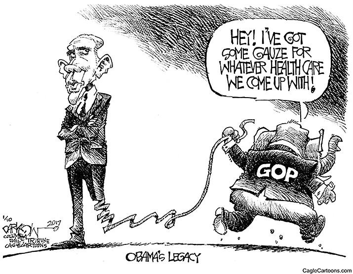 Editorial cartoon: Jan. 11, 2017