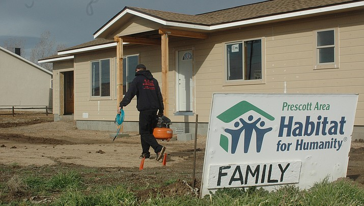 PV's Habitat home in final stages