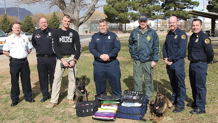 KFD creates emergency K-9 medical kits for KPD's canine officers