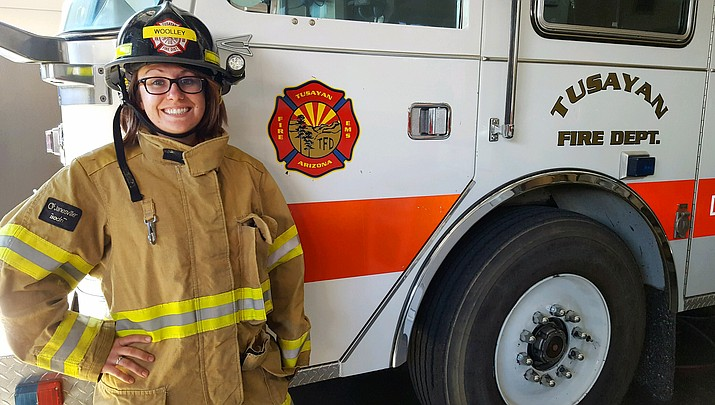 The best prepare for the worst: Molly Woolley first local firefighter to complete NPS structural fire training