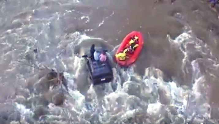 Drone offers bird's eye view of Verde Valley rescue operations