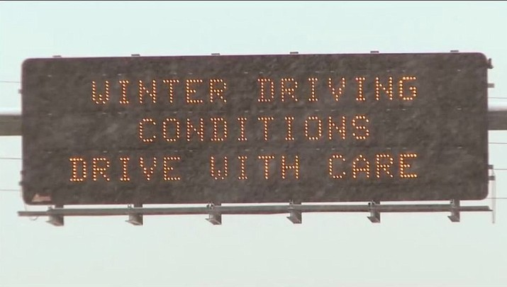 DPS: Don't travel across northern Arizona today