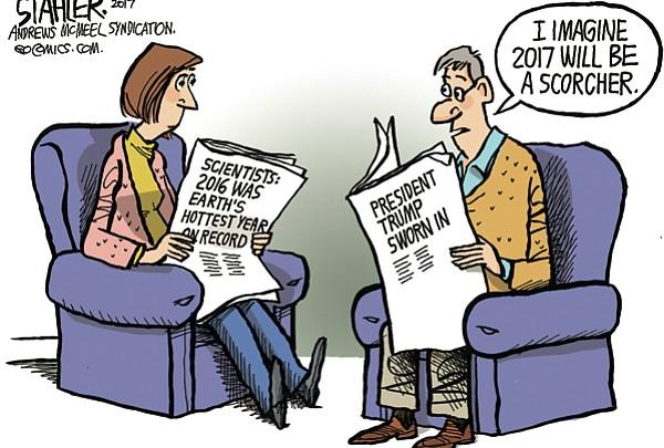 Editorial Cartoon: Jan. 20, 2017