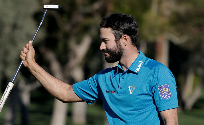 Canadian Adam Hadwin shoots 13-under 59 in CareerBuilder