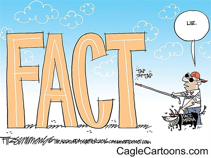 Editorial cartoon: Jan. 24, 2017 | Kingman Daily Miner | Kingman, AZ