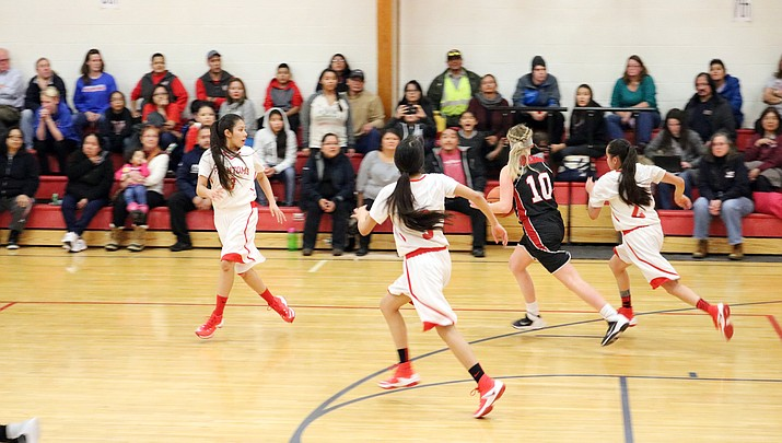 Lady Phantoms lose to Mogollon, remain third in 1A Central (See photos)
