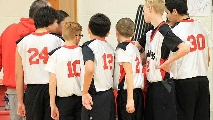 Grand Canyon middle school defeats Maine Consolidated (See photos)