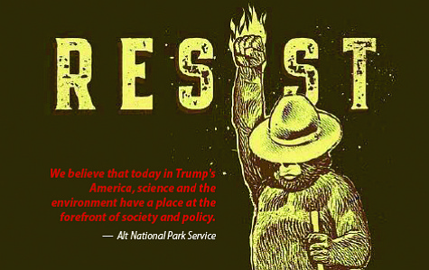 After being told commenting on matters of national policy was inappropriate, some federal employees took to social media under alternate accounts, posting about topics ranging from climate change to legislation potentially harmful to the environment and the general public. Photo/Alt National Park Service Facebook