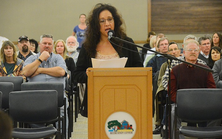 TVR Committee member Rose Ortiz-Unruh said the modified plan addresses the three main concerns: The noise and crowd of the Main Stage concerts, the road closure of Old Town, and lack of parking. (VVN/Vyto Starinskas)