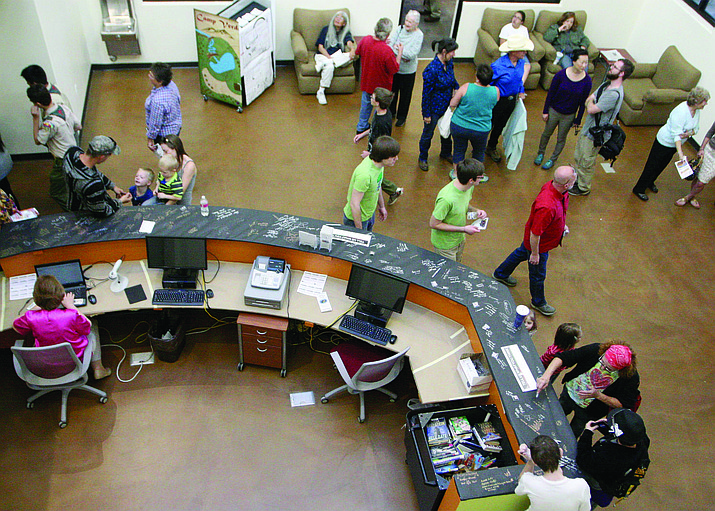 Nov. 5, 2016, the Camp Verde Community Library moved operations to a brand new 17,000 square foot building.  (VVN/File Photo)
