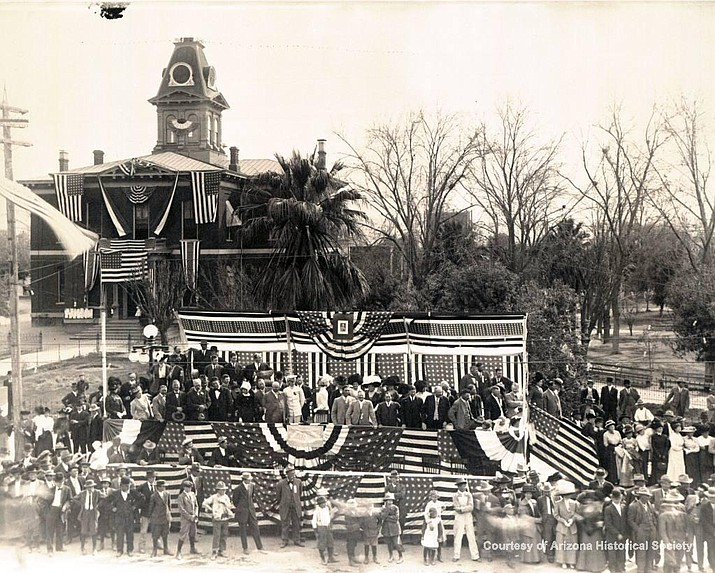 Arizona officially became a state on Feb. 14, 1912