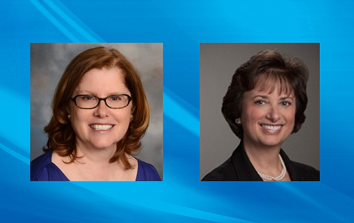 Teresa Gavigan (left) and Teresa Kline (right) were appointed to the Grand Canyon Association Board.
