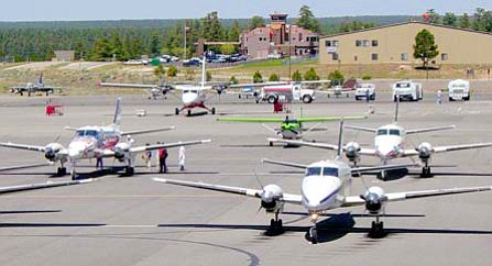 ADOT will discuss the Grand Canyon Airport master plan.