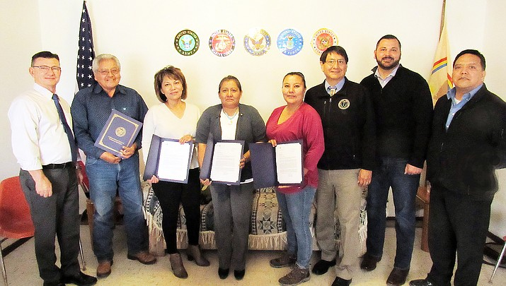 First Navajo Veteran Service Officers certified, now filing claims for veterans