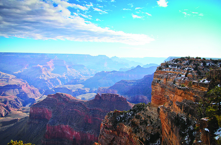 Grand Canyon will offer free admission in recognition of Presidents Day Feb. 20.