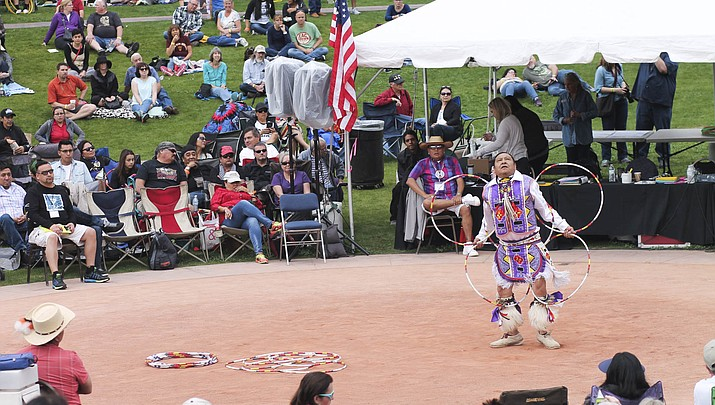 Hooping it up at Heard Museum for 27th Annual World Championship Hoop Dance Contest