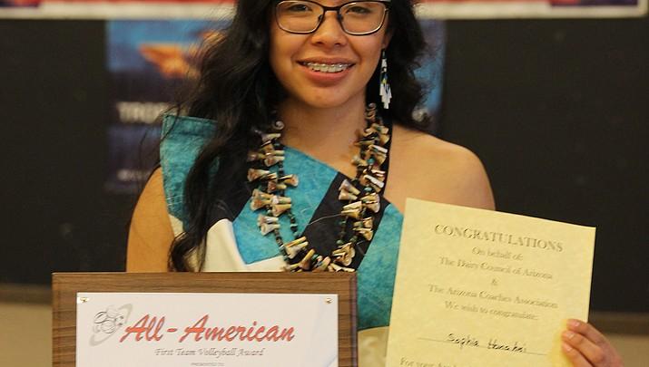 Tuba City senior wins All-American sports award for commitment, skills