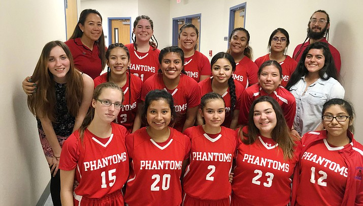 Fifth-ranked Lady Phantoms power past Williams, lose to Cibecue in regional tournament Feb. 9-11 (Photo Gallery)