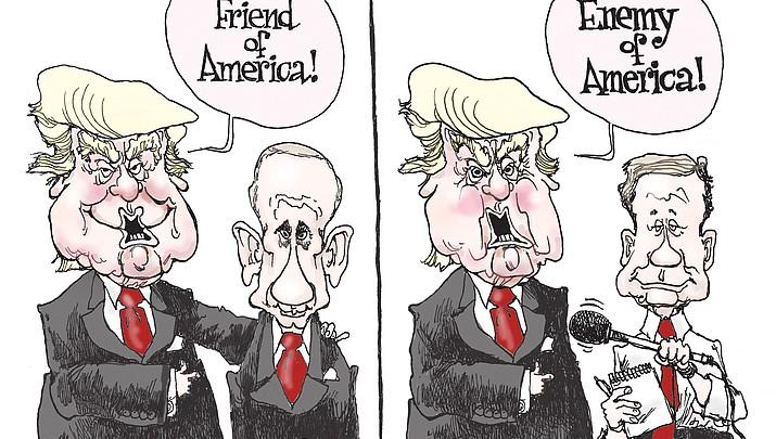 Editorial Cartoon 2 Feb. 21, 2017