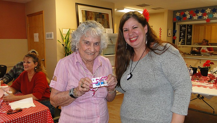 Meals on Wheels Valentine's Day Lunch