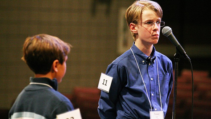 Tanner Dodt wins third consecutive county spelling bee competition