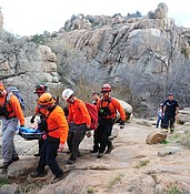 Hiker rescued north of Watson Lake photo
