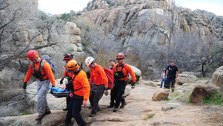 Hiker rescued north of Watson Lake