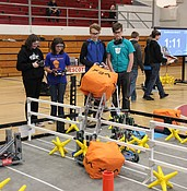 Photo: Robotics competition at Mile High Middle School photo