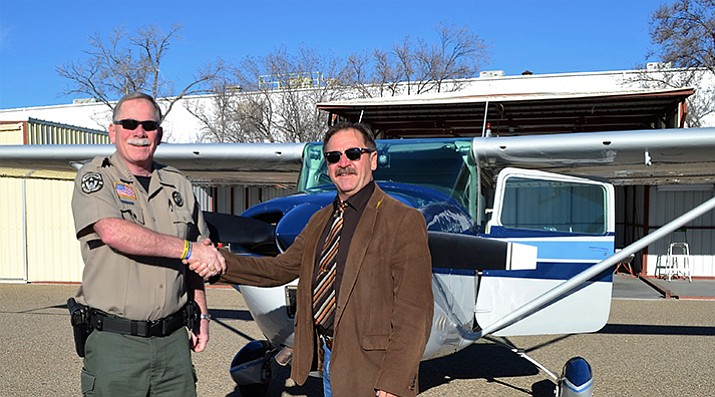 Sheriff donates airplane to Navajo County Sheriff's Office