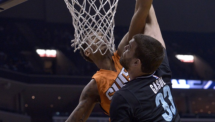 Conley, Gasol lead Grizzlies past Suns