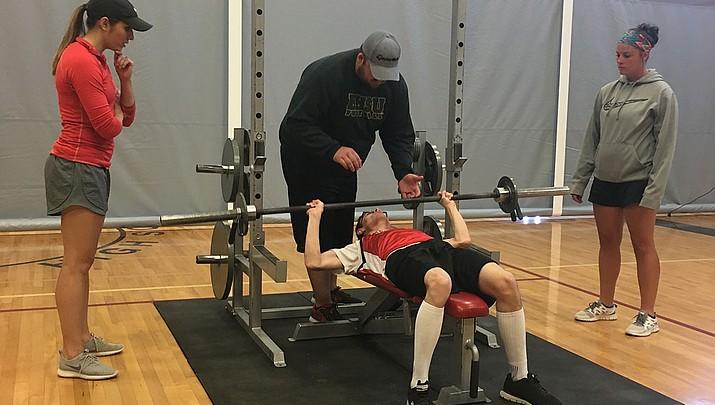 Kingman Special Olympics: The Renegades Pumping Iron