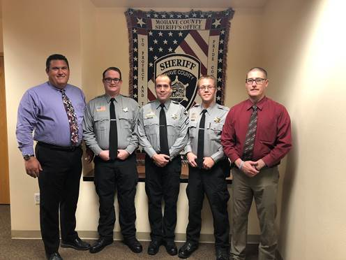 Kingman Photo Sheriff Promotes Detention Officers