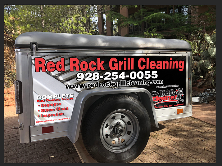 Red Rock Grill Cleaning is a mobile-based business is owned and operated by Scott Thompson and serves Sedona, Cottonwood, Flagstaff, and Northern Arizona. Courtesy photo