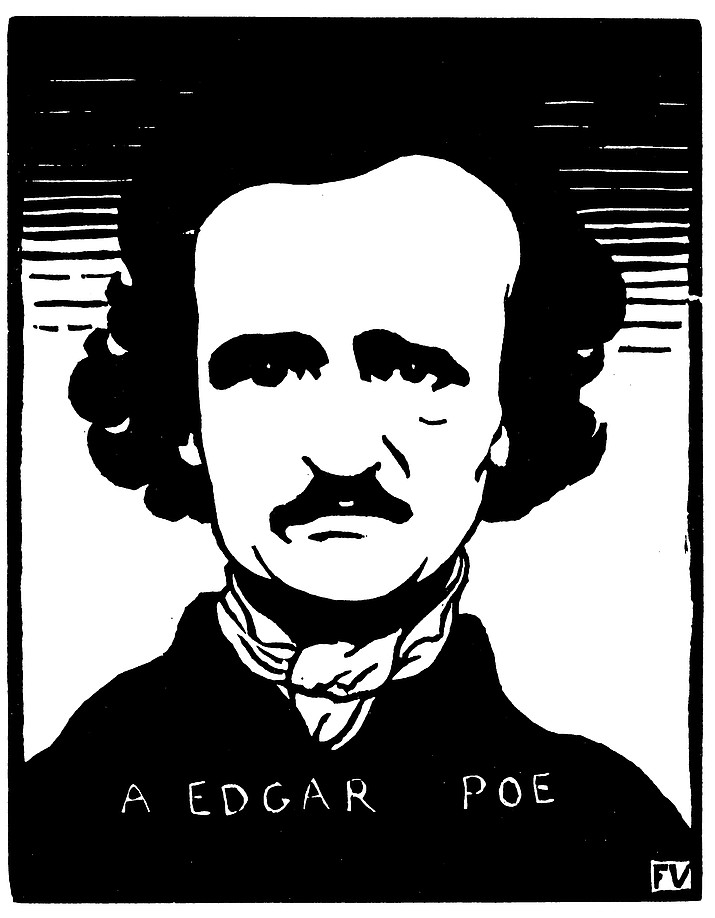 Edgar Allan Poe (Courtesy Photo by WikiMedia)