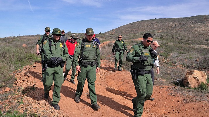 Texas and Arizona officials said the first 400 soldiers will be in place within days, and Defense Secretary James Mattis said the Pentagon would foot the bill for the full 4,000, if needed, through September. (DHS photo by Adam Theo)