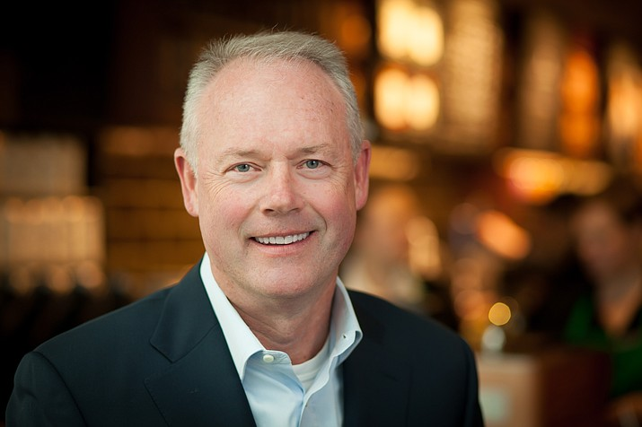 Starbucks CEO, Kevin Johnson. (Courtesy Photo)