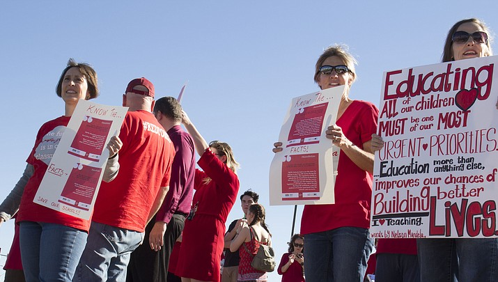 Educators to walk out Thursday if education funding requirements aren't met