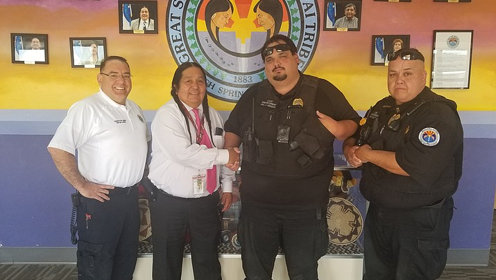 Hualapai Nation Emergency Service's Henson Nominated for Officer of the Year