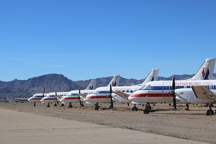 Council will address matters pertaining to the City of Kingman taking control of the airport at its meeting at 5:30 p.m. Tuesday in the Mohave County Administration building, 700 W. Beale St. (Photo by Travis Rains/Daily Miner)
