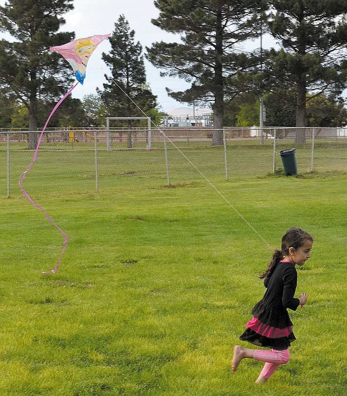 The Kingman Daily Miner is hosting its 28th annual Kite Flying Extravaganza 3-6 p.m. Wednesday at Centennial Park, 3333 Harrison St. (Daily Miner file photo)