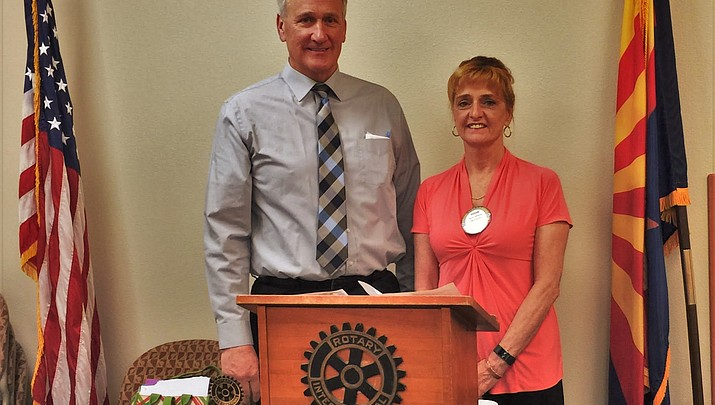 Kingman Photo | Rotary Club Welcomes MCC President