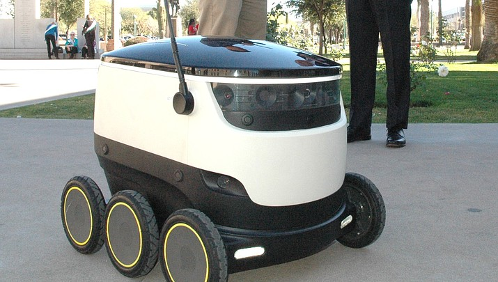 Sidewalk delivery robots are on the way