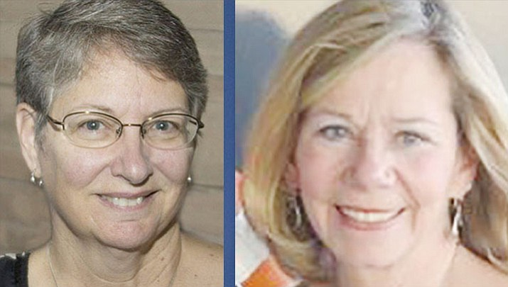 Deb Dillon, left, and Connie Donovan won election Tuesday, Nov. 6, to the Prescott school board. (Courtesy)