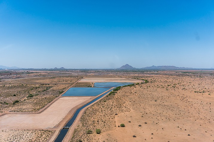 "Arizona water managers have been recharging aquifers for years, ""banking"" water for future use. The Drought Contingency Plan now being negotiated would further such efforts. (File photo by Daria Kadovik/Cronkite News)"
