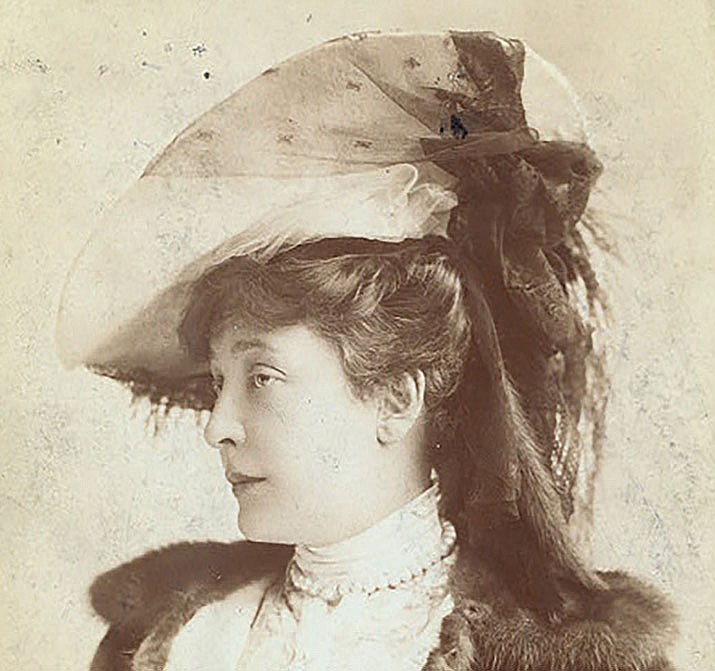 Olga Nethersole (Public domain, courtesy of the New York Public Library.)