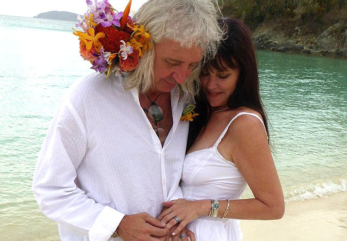 Tommy Anderson of Cottonwood and Joan Sedita of Cornville were wed on the island of St. John, May 23, 2019.