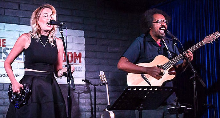 Scarborough is the music of Simon & Garfunkel, performed by Nashville songwriters and touring folk duo, Edward Williams & Ashley E. Norton.