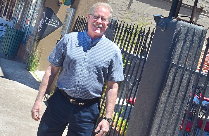 Cottonwood Economic Development Director Richard Faust said he is working to keep businesses open in Cottonwood and getting vacant buildings filled. VVN/Vyto Starinskas